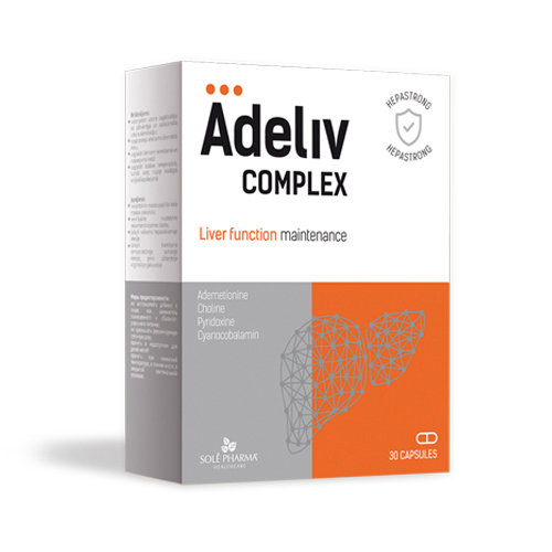 Hepastrong Adeliv complex, 30 kapsulas