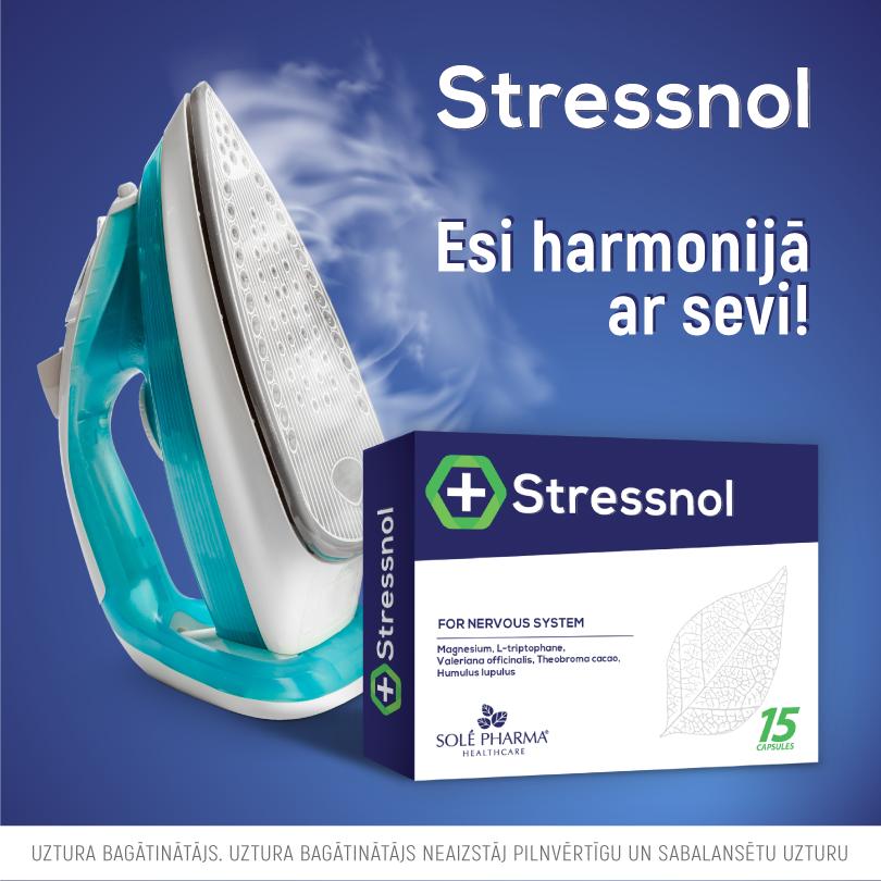 Stressnol, 60 kapsulas