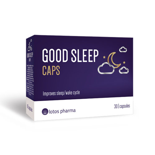 Good Sleep Caps, 30 kapsulas