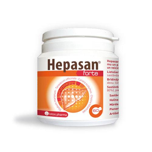 Hepasan® Forte, 60 kapsulas