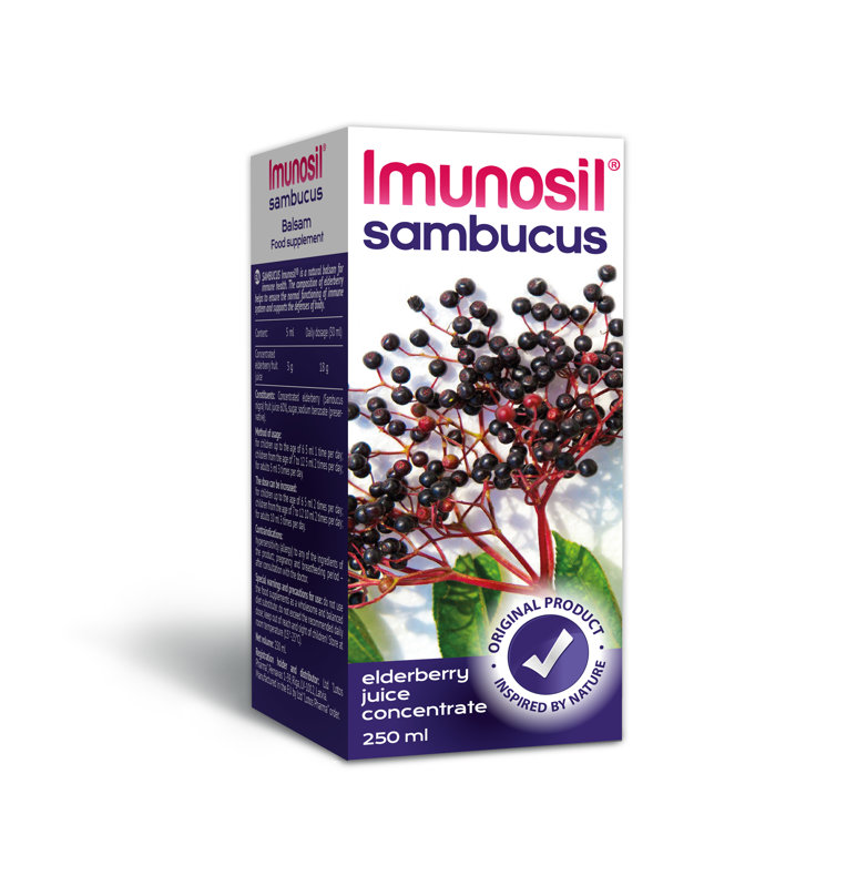 Imunosil® Sambucus balzams, 250ml