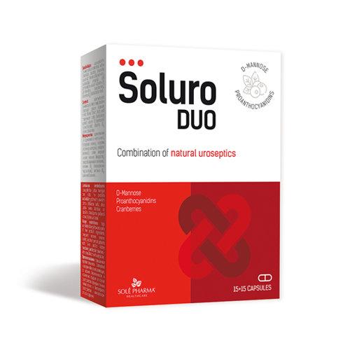 Soluro® DUO, 15+15 kapsulas