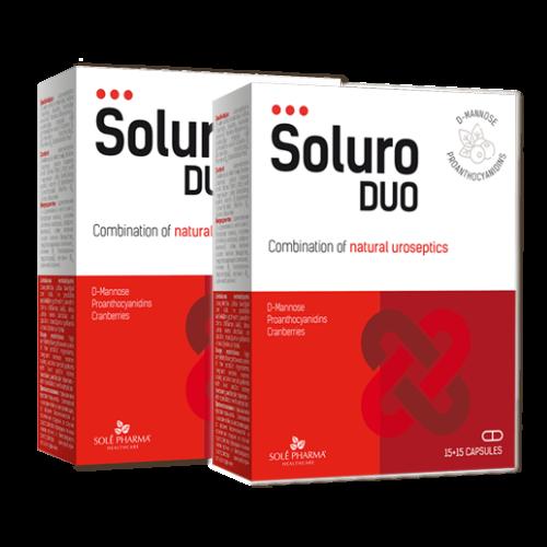 2x Soluro® DUO, 15+15 kapsulas