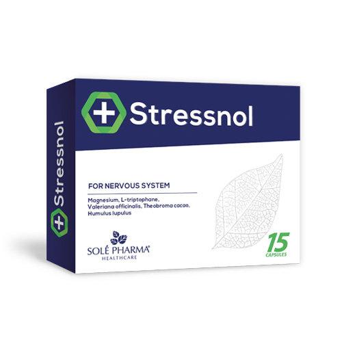 Stressnol, 15 kapsulas