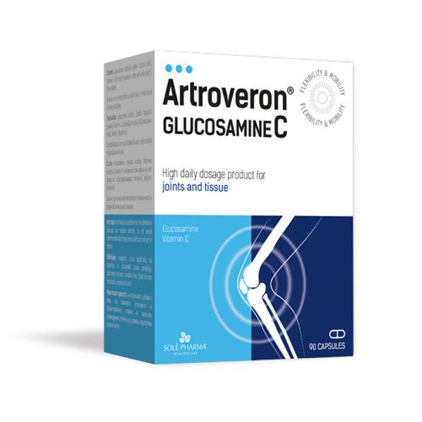 Artroveron® Glucosamine C, 90 kapsulas
