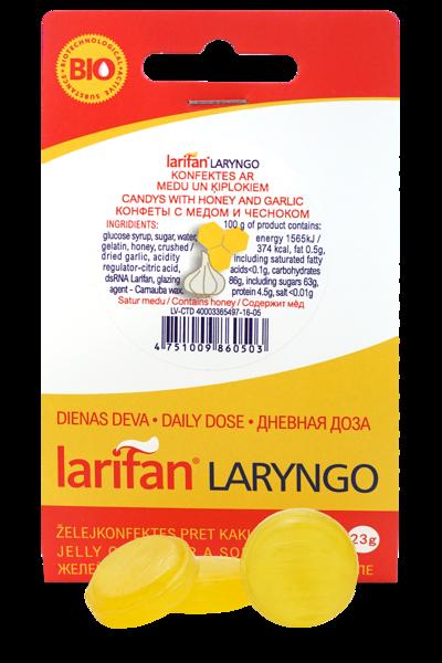 Larifan LARYNGO ar medu un ķiplokiem