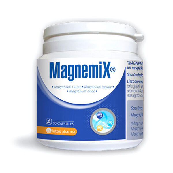 Magnemix®, 90 kapsulas