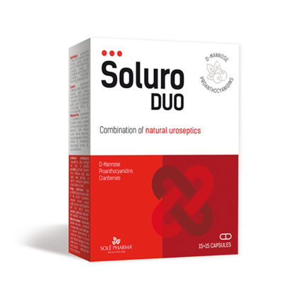 Soluro®, 15 + 15 капсул